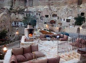 هتل در دره گورمه در ترکیه   سایت معماری